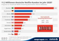 GRAFIK Netflix Kunden im Jahr 2020